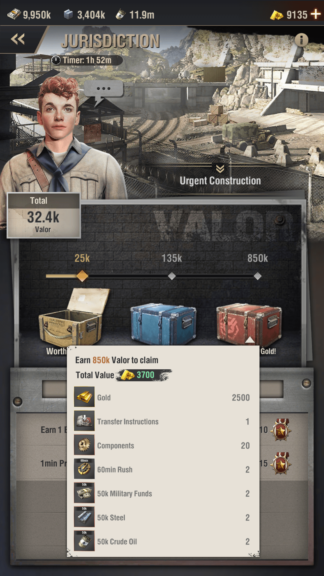 event Jurisdiction warpath screenshot 2