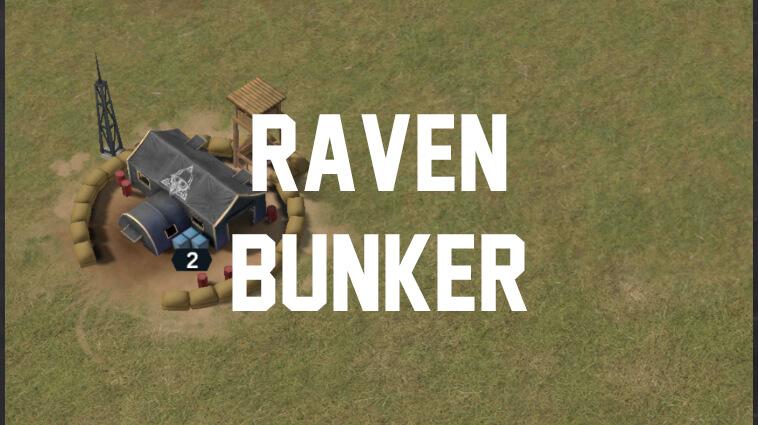 raven bunkers