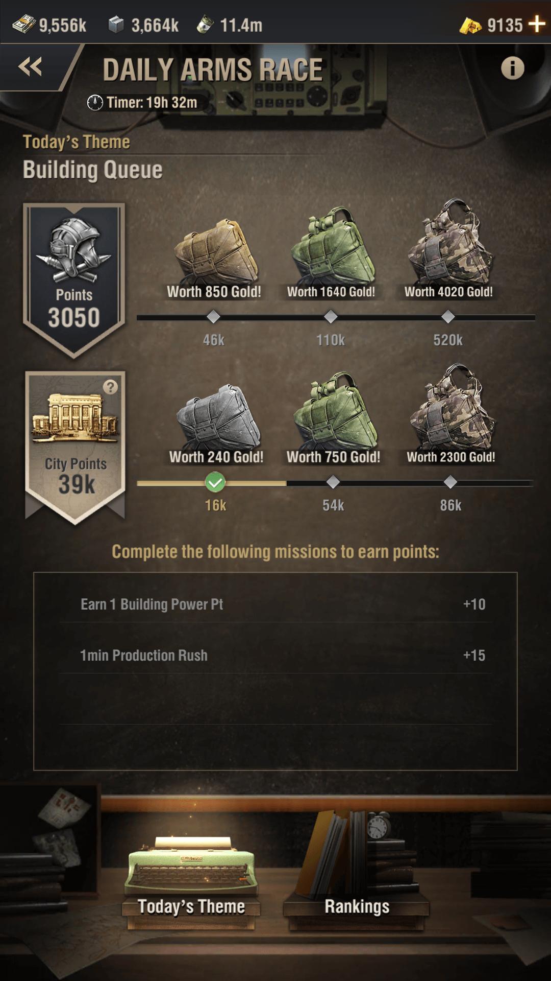 warpath arms race event screenshot 1