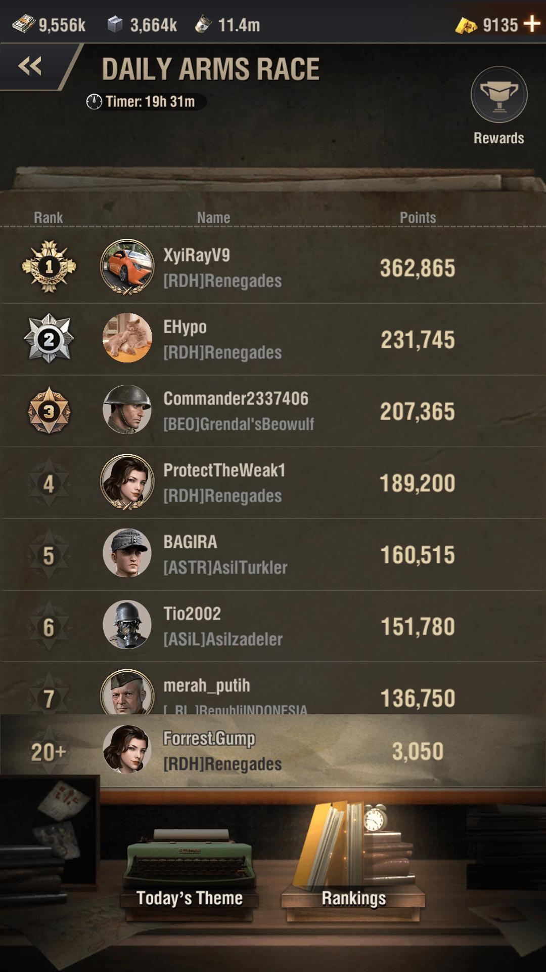 warpath arms race event screenshot 2