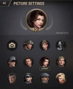 warpath avatar frame