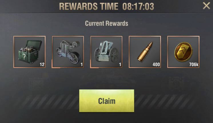 campaign rewards